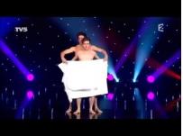 Танец с полотенцем. French comedians